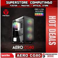 Fantech AERO CG80 Tempered Glass Gaming Case