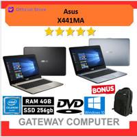 Laptop ASUS X441MA | Intel N4020 RAM 4GB 256GB SSD 14 HD DVD Win10