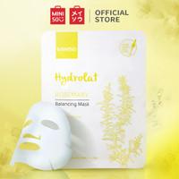 MINISO Masker Wajah Hydrating Sheet Mask Moisturizing Lavender Lembut