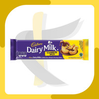 Dairy Milk Cadbury Cashew Nut Milk Chocolate - Chocolate Bar 62gr