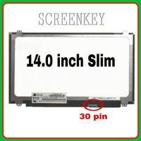 LCD LED Laptop Asus X455 X455L X441UA X441N X441NA 14.0inch Slim 30pin