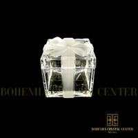 Box Perhiasan Pita Bohemia Crystal berlian emas hampers kado souvenir