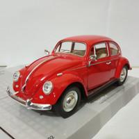 Diecast mobil klasik Volkswagen classical beetle 1967 VW kodok murah