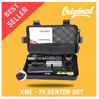T6 SENTER PAKET LED E17 LED Tactical XML - T6 8000 Lumens- SOSOYO