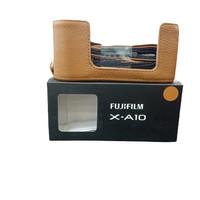 Leather Case Fujifilm X-A10 brown