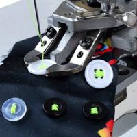 SIMARU SM1377 Mesin Jahit Pasang Kancing Industri High Speed Dobel Cam
