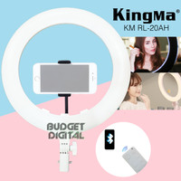 LED Ring Light Kingma 20 Inch Support Bluetooth Remote Connect Phone