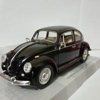 Diecast mobil VW kodok Volkswagen classical beetle 1967 black murah