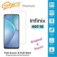 Grace Infinix Hot 10 - X682B- 6.78 inch Tempered Glass - Real 2.5D Cur