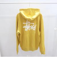 Hoodie Stussy basic yellow Original