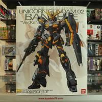 MG 1/100 Banshee Ver Ka Unicorn Gundam 02 ORIGINAL Bandai Model Kit