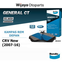 Kampas Rem Depan Brake Pad Honda CRV New (2007 - 2016) Bendix