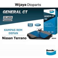 Kampas Rem Depan Brake Pad Nissan Terrano Bendix