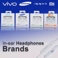 Headset / handsfree / earphone for Oppo, Xiaomi, Vivo, Asus MH133 non