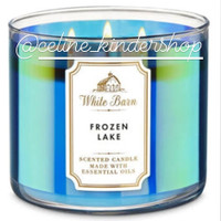 Bath and Body Works Frozen Lake 3 Wick Candle (Besar)