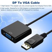 xon displayport DP male to vga female kabel converter komputer laptop