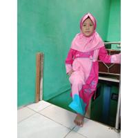 Baju Muslim Gamis Anak perempuan 6 Tahun Zr1101