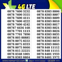 nomor cantik XL jaringan 4G s