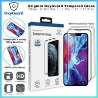 OxyGuard Tempered Glass iPhone 12 Pro Max 12 Pro Mini Anti Gores - 12 Pro or 12