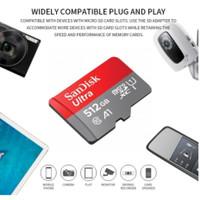 kartu Sandisk micro sd 512 GB original full murni memory card garansi