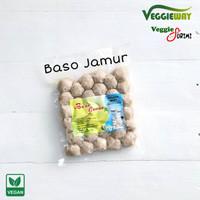 vegetarian veggie way baso / bakso jamur vegan