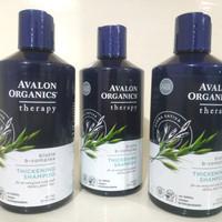 Avalon Organics Thickening Shampoo 414 ml Biotin B-Complex Avena Sativ
