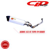 Knalpot Racing Motor CLD Racing Yamaha Aerox 155 cc Type C9 Series