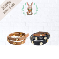 Tory Burch Double Wrap Bracelet Leather Gelang