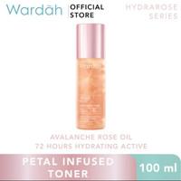 wardah hydra rose petal infused toner 100ml