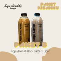 Paket Kisahku 3 (Kopi Aren & Kopi Latte 1 Liter) - Kopi Literan