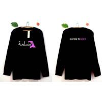 Kaos Wanita Muslimah 1 - Lengan Panjang - Journey to Syari - Bhn Adem