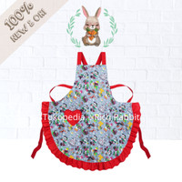 Disney Parks Mickey and Friends Collection Christmas Apron Celemek
