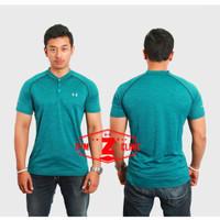 Kaos Olahraga Tshirt UA Buttons - XL
