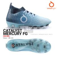 ORTUSEIGHT CATALYST MERCURY FG ORIGINAL TERMURAH Sepatu Sepak Bola - CloudBlue, 41