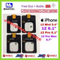 MAXFEEL Tempered Glass Camera Kamera iPhone 12 Pro Max 12 Pro 12 Mini