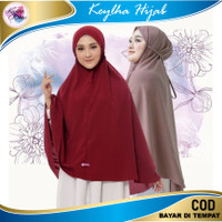 Hijab Bergo Maryam Jumbo - Hitam