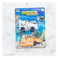 Mainan mobil konstruksi isi 2