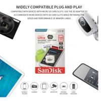 kartu Sandisk micro sd 128 GB original full murni memori garansi ultra