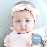 Bandana anak / Bando anak / Bandana bayi /Bando anak / - Biru, 0-3 tahun