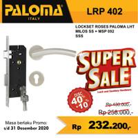 Kunci Set PALOMA LRP 402 Handle Mortise Cylinder Lock Gagang Pintu