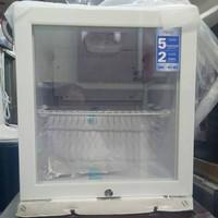 Kulkas Showcase Mini Portable Aqua / Sanyo AQB-50