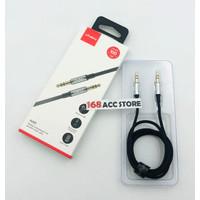 KABEL AUDIO VIVAN/AUX AUDIO CABLE Hi-Fi SOUND GOLD PLATE JACK 3.5MM - Hitam