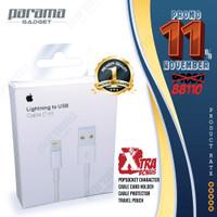 Kabel charger IPHONE- ORIGINAL 200%