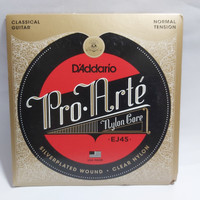 Senar Gitar Klasik Daddario D'addario EJ45 Normal Tension Original USA