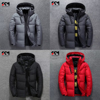 Jaket winter pria untuk musim dingin / outdoor - Hitam, S