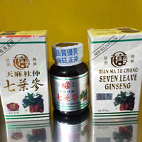 Seven leave ginseng/obat asam urat,nyeri sendi,pegel linu dll