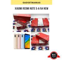 xiaomi redmi note 5 4/64 ram 4gb rom 64gb garansi distributor new - gold