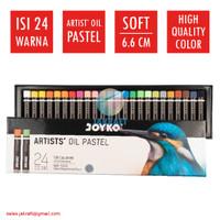 Krayon Artist Oil Pastel 24 Warna JOYKO OP-24ART Professional Crayon