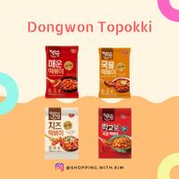 Dongwon Topokki/tteobokki/topoki/tokpoki Aneka Rasa