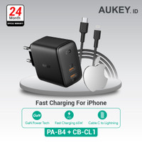 Aukey Charger PA-B4 + Aukey Charger CB-CL1